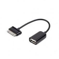 Кабель USB 2.0 OTG Cablexpert, USBAF/BM30pin, для планшетов Samsung, 0.15м