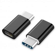 Переходник ORIENT UC-201 USB 2.0 micro-Bf (5pin) -> Type-Cm (24pin), черный
