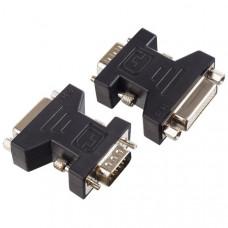 Переходник Perfeo VGA/SVGA вилка - DVI-D розетка (A7018)